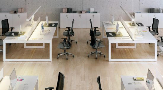 How does the office installation system work?